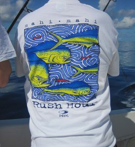 "H-Blue-O's""Rush Hour"" Mahi-Mahi T-Shirt"